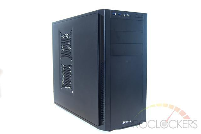 Corsair Carbide Series 200R Black Steel Plastic Compact ATX Mid Tower Case