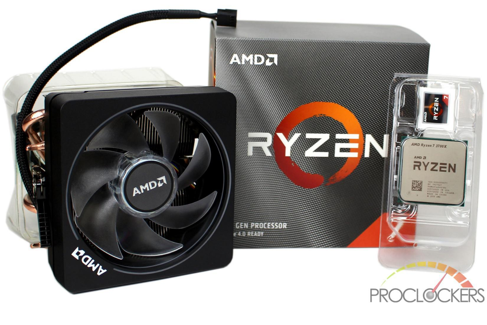 Amd Ryzen 7 3700x Am4 Cpu Review Proclockers