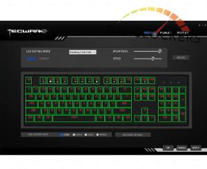 Phantom RGB 87 Keyboard Software main screen