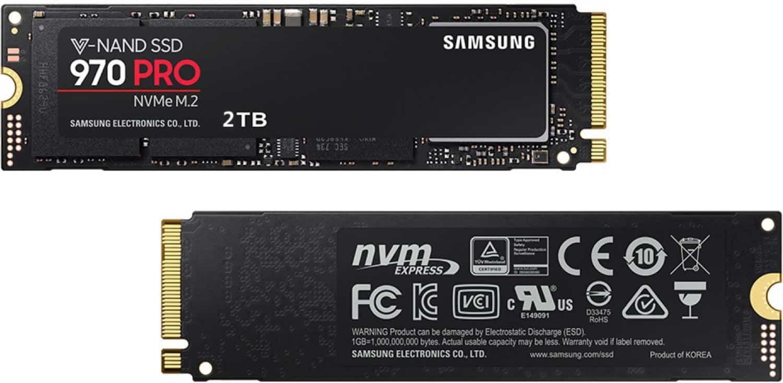Samsung 970 Pro vs SanDisk Extreme Pro