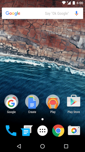 Android 6.0 Marshmallow (October 2015)