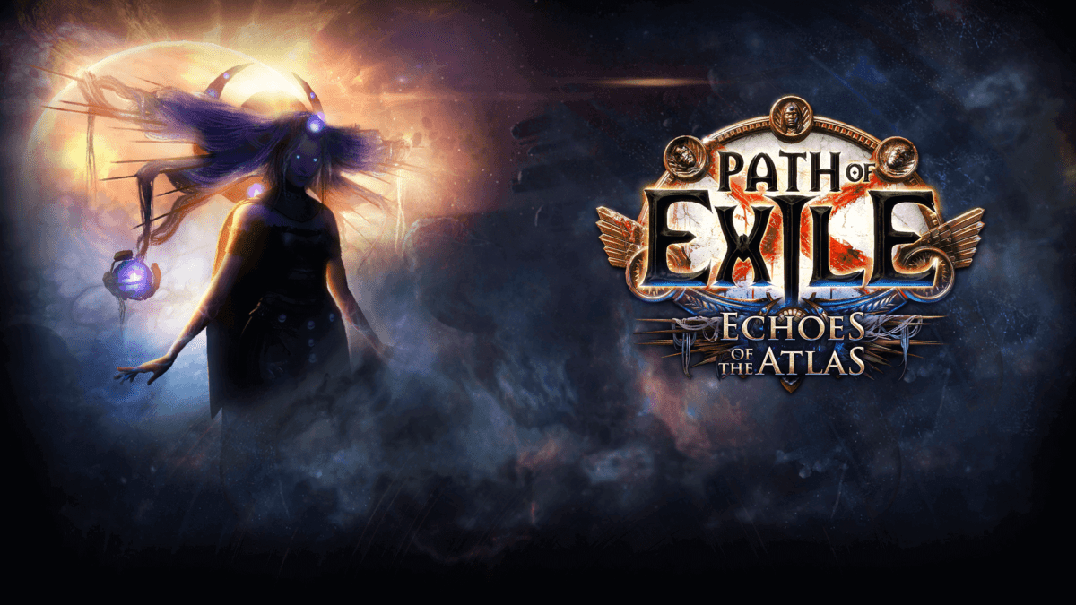 Path of Exile Promotional Banner for Atlas Expansion