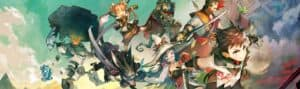RPG Maker MV banner, playable on PC and Switch